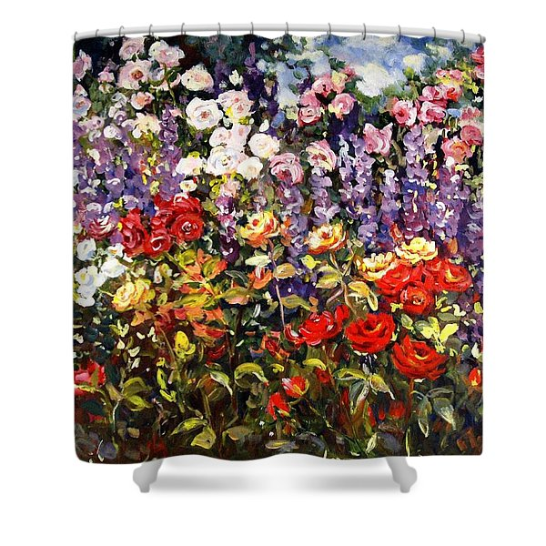 Summer Garden II Shower Curtain