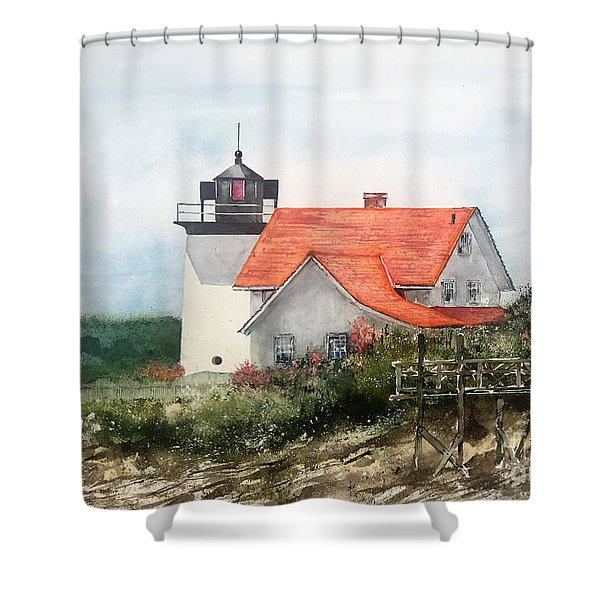 Summer In Maine Shower Curtain