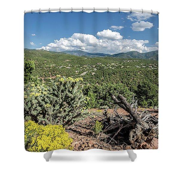 Summer In Santa Fe Shower Curtain