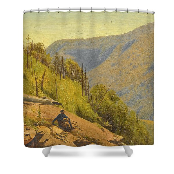 Summer In The Hills 2 Shower Curtain