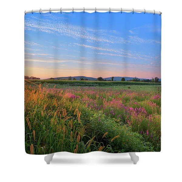 Summer In The Hills 2017 Shower Curtain