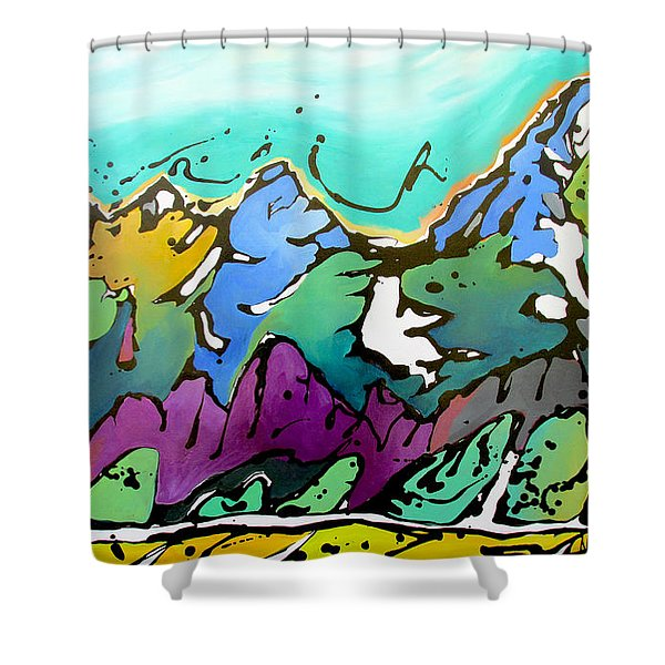Summer Is Upon Us Shower Curtain