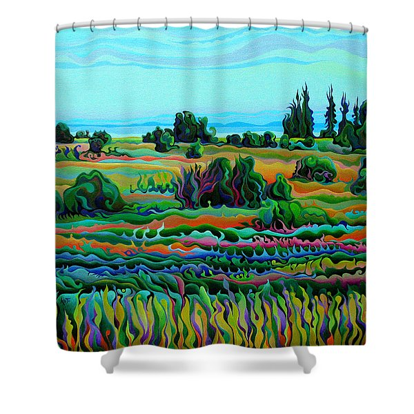 Summer Meadow Dance Shower Curtain