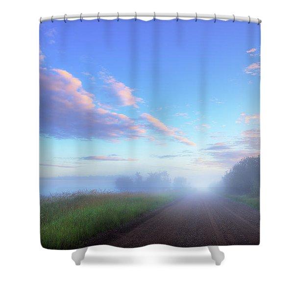 Summer Morning In Alberta Shower Curtain