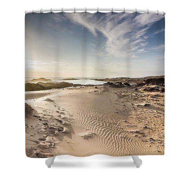 Summer Oasis Shower Curtain