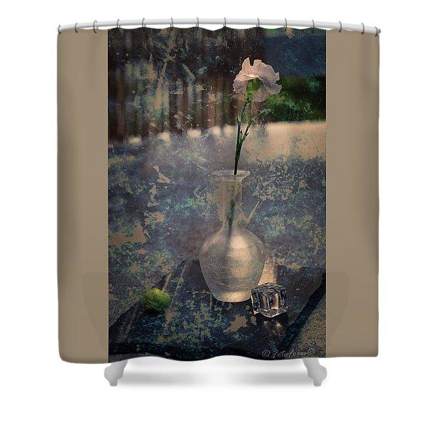 Summer On Rocks Shower Curtain