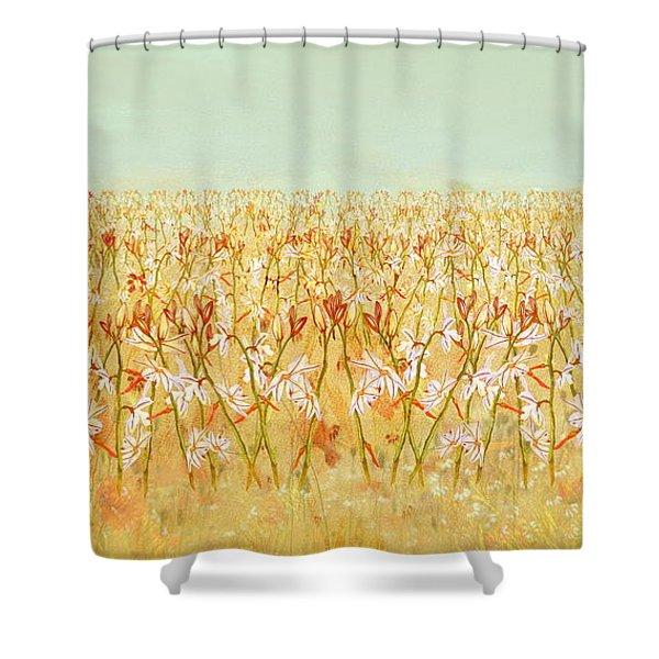 Summer Outbreak Shower Curtain