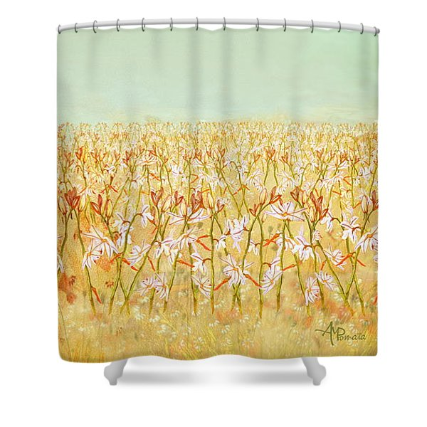 Summer Outbreak Shower Curtain