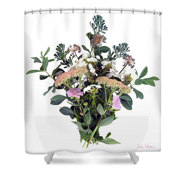 Summer Perrenials Shower Curtain