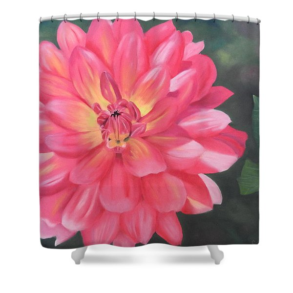 Summer Pinks Shower Curtain