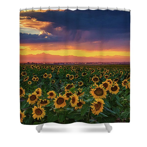 Summer Radiance Shower Curtain