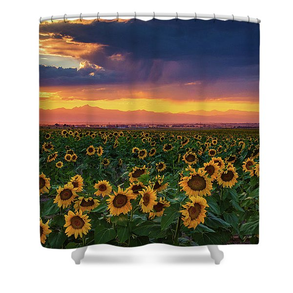 Shower Curtain featuring the photograph Summer Radiance by John De Bord