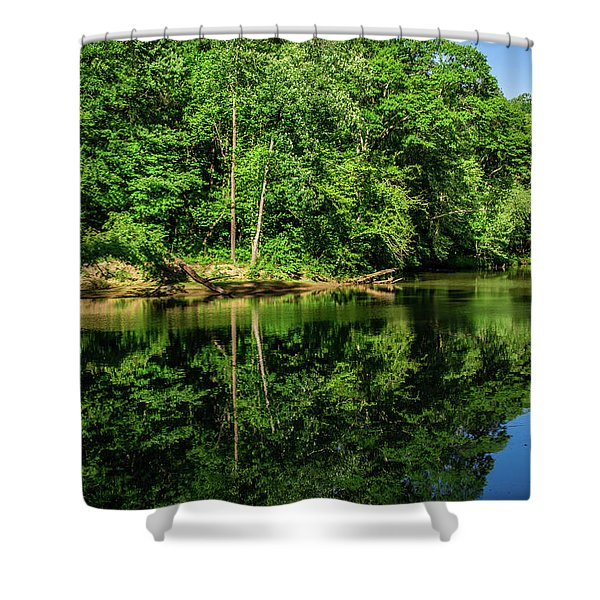 Summer Reflections Shower Curtain