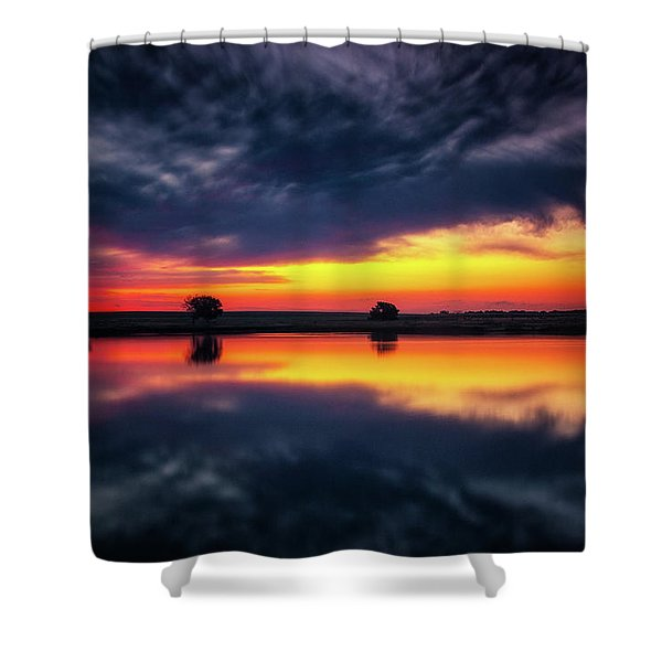 Shower Curtain featuring the photograph Summer Rises by John De Bord