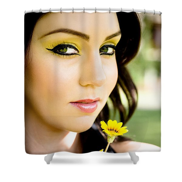 Summer Romance Shower Curtain