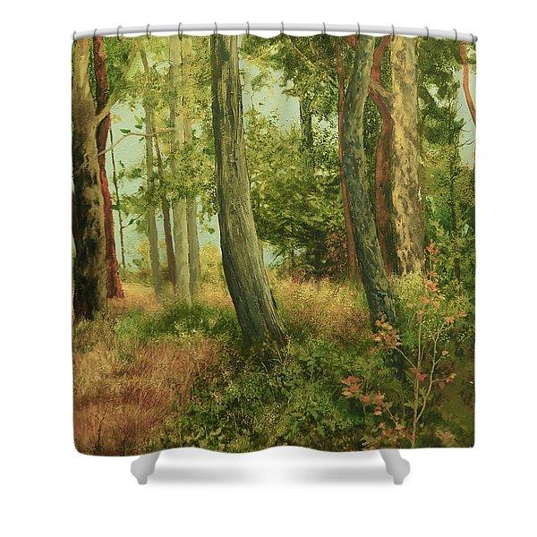Summer, Sidney Spit Shower Curtain