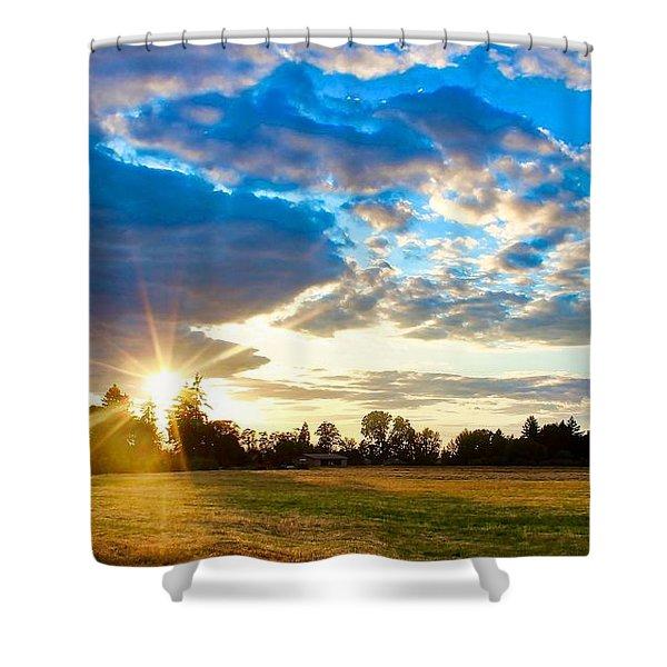 Summer Skies Shower Curtain