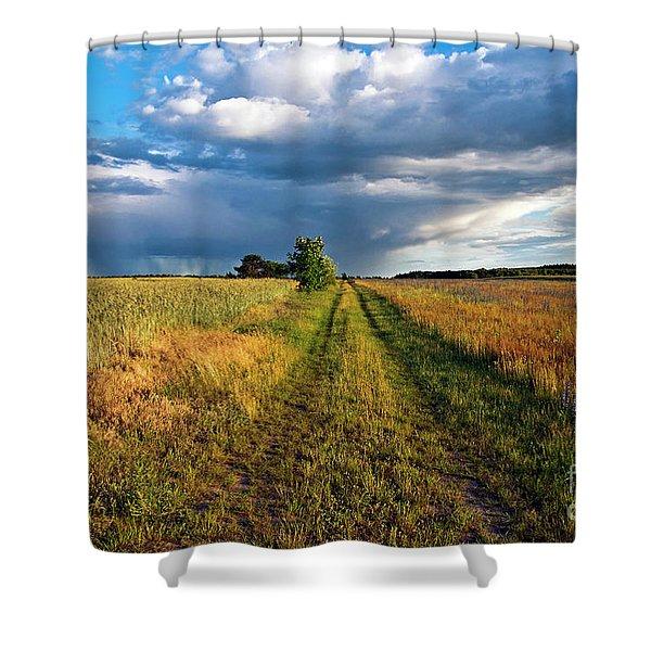 Summer Sound Shower Curtain