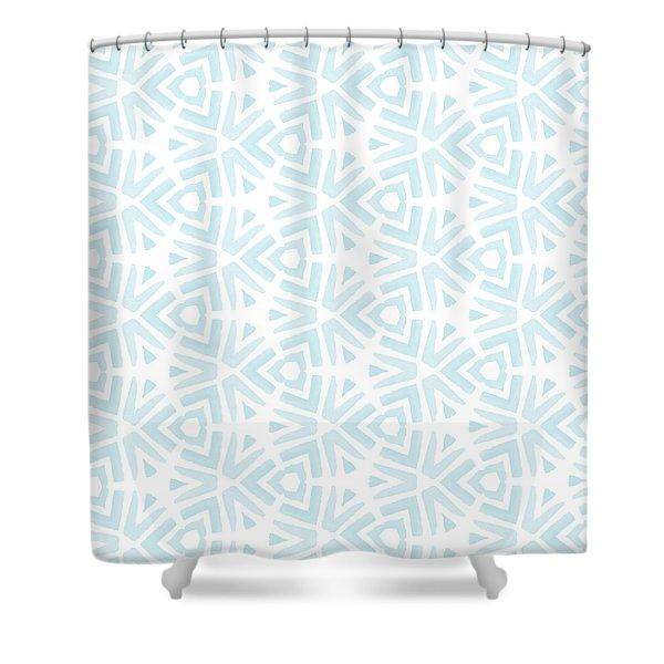 Summer Splash- Pattern Art By Linda Woods Shower Curtain