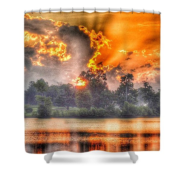 Summer Sunrise Number 1 - 2019 Shower Curtain