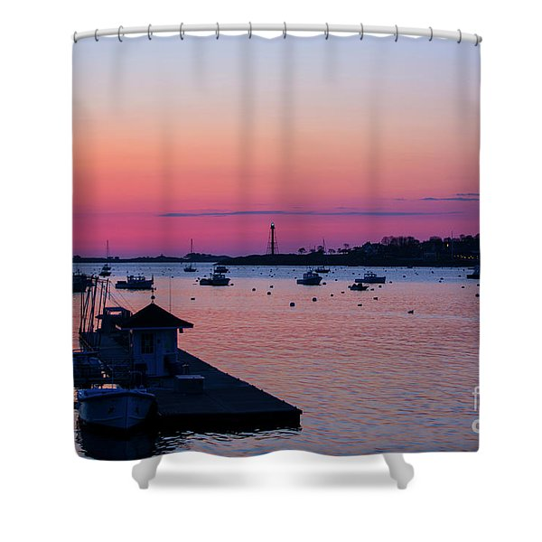 Summer Sunrise Shower Curtain