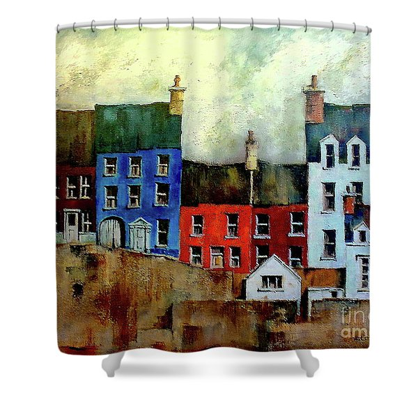 Summercove, Kinsale, West Cork. Shower Curtain