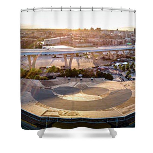 Summerfest Sunset Shower Curtain