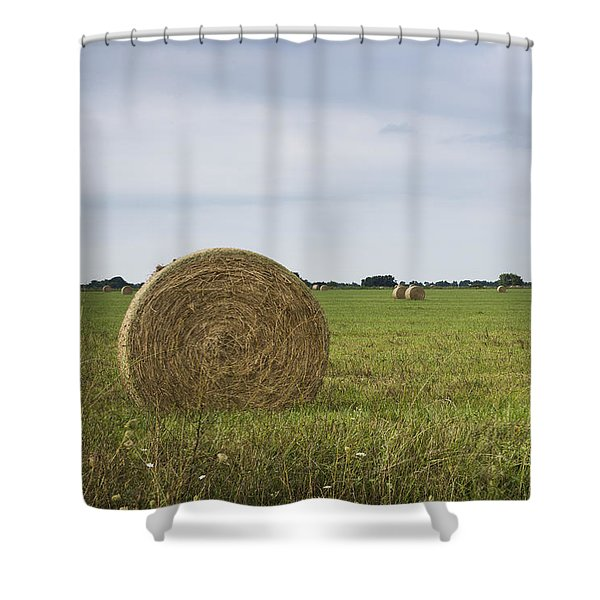 Shower Curtain featuring the photograph Summer's End by Andrea Silies