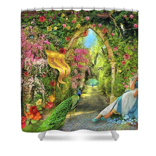 Summers Garden Shower Curtain