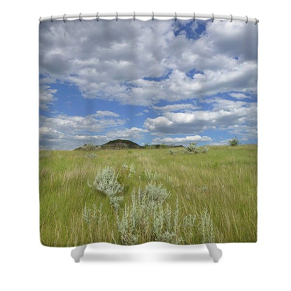 Shower Curtain featuring the photograph Summertime On The Prairie by Cris Fulton