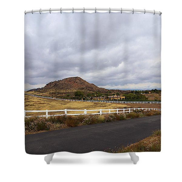 Summitville Street Temecula Shower Curtain