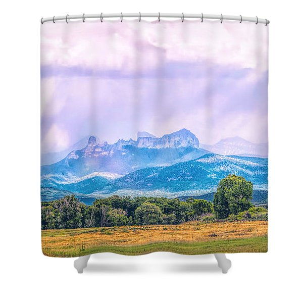 Sun And Rain Shower Curtain