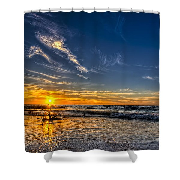 Sun And Surf Shower Curtain