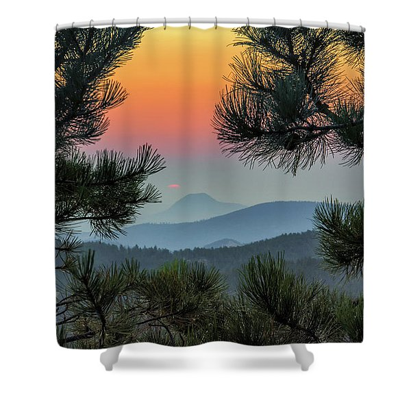 Sun Appears Shower Curtain