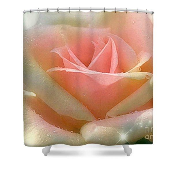 Sun Blush Shower Curtain