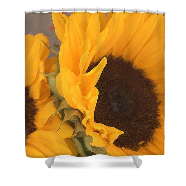 Sun Flower Shower Curtain