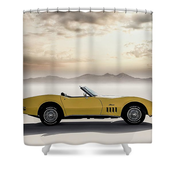 Sun Kissed Shower Curtain