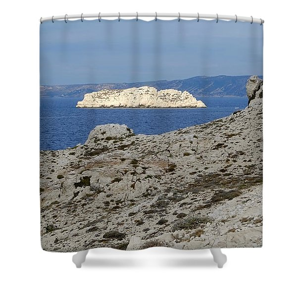 Sun Kissed Island Shower Curtain