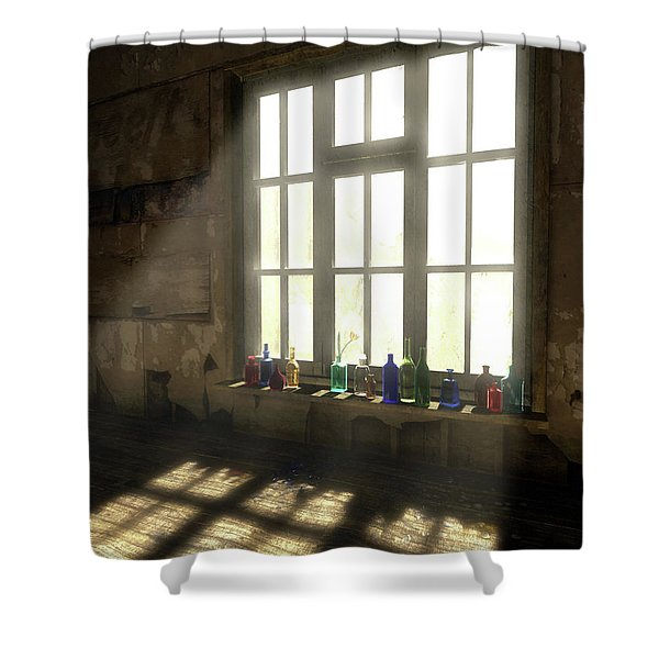 Sun Patch Shower Curtain