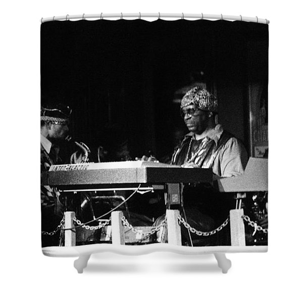 Sun Ra Arkestra At The Red Garter 1970 Nyc 31 Shower Curtain
