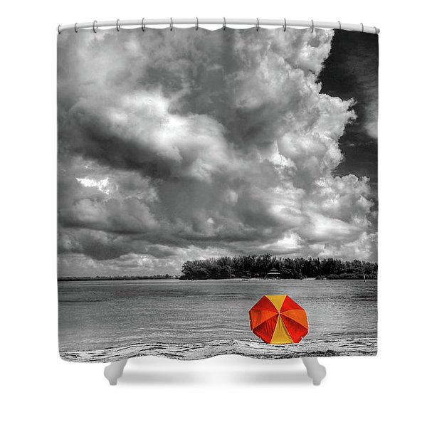 Sun Shade Shower Curtain