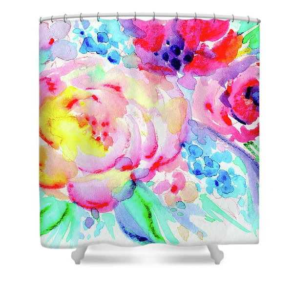 Sun Washed Pink Shower Curtain