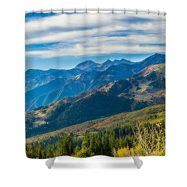Sundance Autumn Shower Curtain