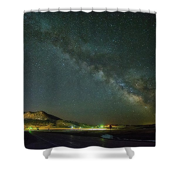 Sundance Milky Way Shower Curtain
