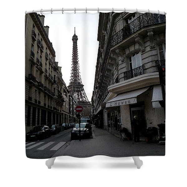 Sunday Afternoon In Paris Shower Curtain