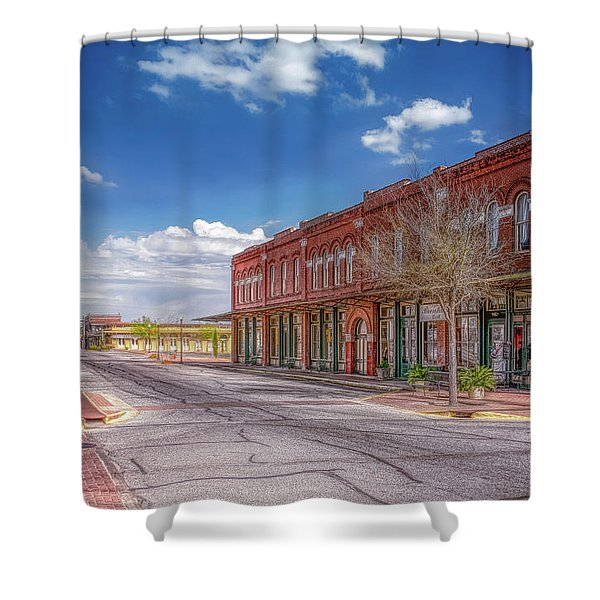 Sunday In Brenham, Texas Shower Curtain
