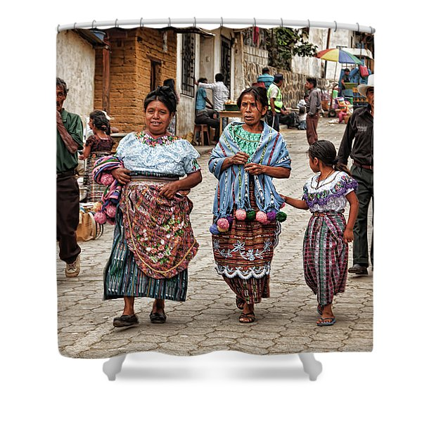 Sunday Morning In Guatemala Shower Curtain