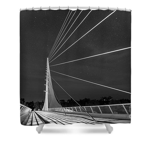 Sundial Bridge 2 Shower Curtain