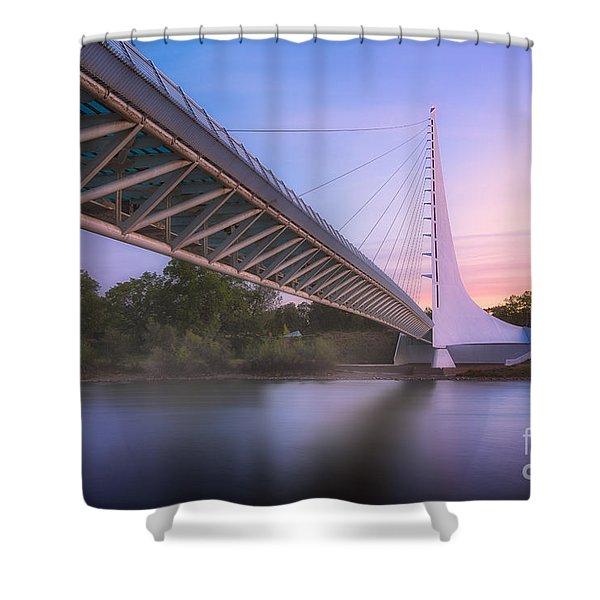 Sundial Bridge 6 Shower Curtain