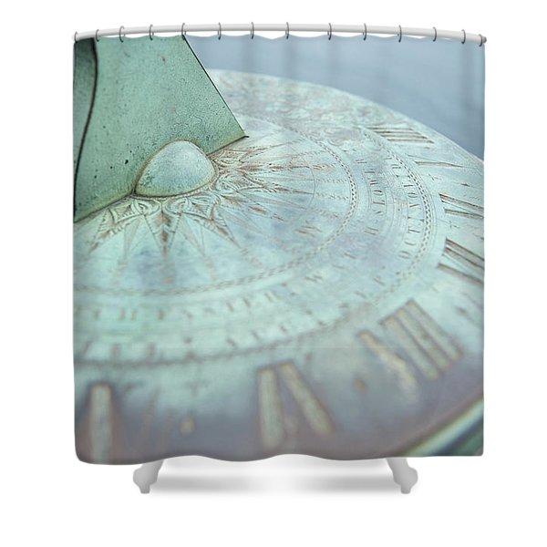 Sundial IIi Shower Curtain